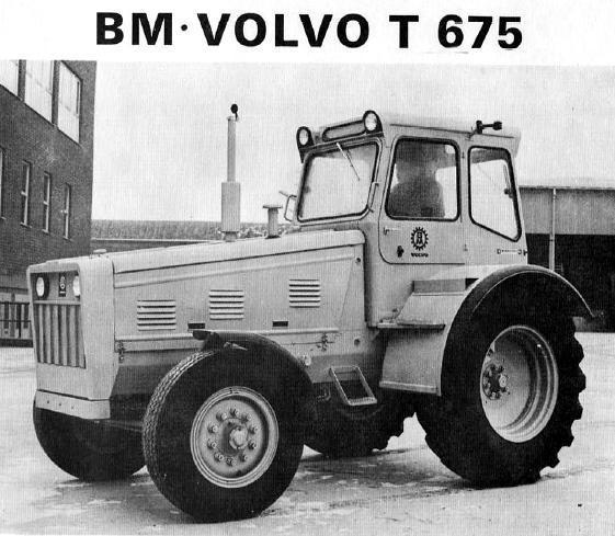 BM Volvo T 675 Industrial | Tractor & Construction Plant ...