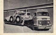 Leyland transporter and a weatherill L64 4WD loader