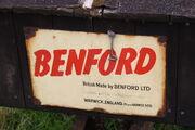 Benford enamel plate - IMG 7246