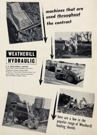 The 1960s weatherhill model range