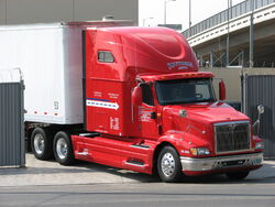 SEPT 17TH LOS ANGELES INTERNATIONAL TRUCK PHOTO PATRICE RAUNET HOLLYWOOD