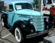International 1937 D2 pickup Reno