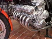 Honda CBX Engine Detail