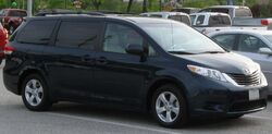 2011 Toyota Sienna LE -- 04-20-2010