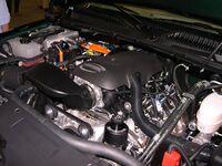 2006 GMC Sierra Hybrid engine