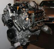 2008 Nissan VK50VE engine front