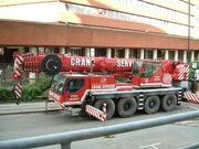 Mobile crane 4 axle - DSCF0262