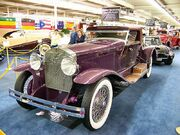Isotta-Fraschini Tipo 8A S LeBaron Boattail Roadster
