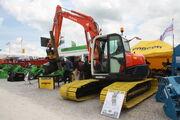 Kubota KX080-3 on bog tracks with encon at Hillhead 2012 - IMG 1286