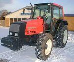 Valtra Valmet 6350 HiTech MFWD (red) - 2000