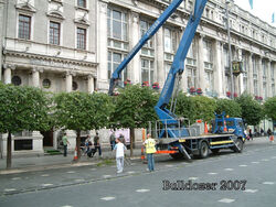 Cherry Picker on lorry