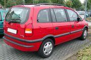 Opel Zafira rear 20071002