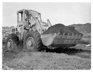 A 1970s weatherill 62B 4WD loader