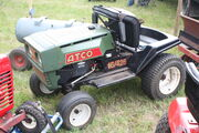 Atco 16-42E lawn tractor at woodcote 09 - IMG 8662