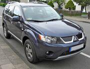 Mitsubishi Outlander Facelift front
