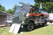 Bedford Green Goddess SYH 297 in RAF Livery at Woolpit 09 - IMG 1420