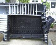 Firebox cutaway