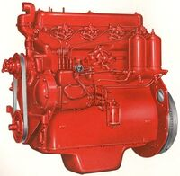 International TD-9 engine 1951