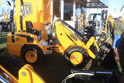 JCB 403 loader on stand at lamma-IMG 4550