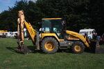 Fermec 750 backhoe loader at DP 09 - IMG 8027
