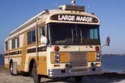 """Large Marge"", A 1980 Blue Bird FC33 Wanderlodge motorhome"