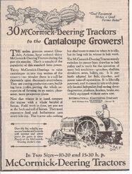 1925 15-30 advert