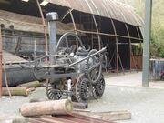 Replica Trevithick locomotive of 1802