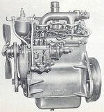 International BD-144 engine 1960