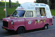 Ice Cream Truck Sydney Australia - crop