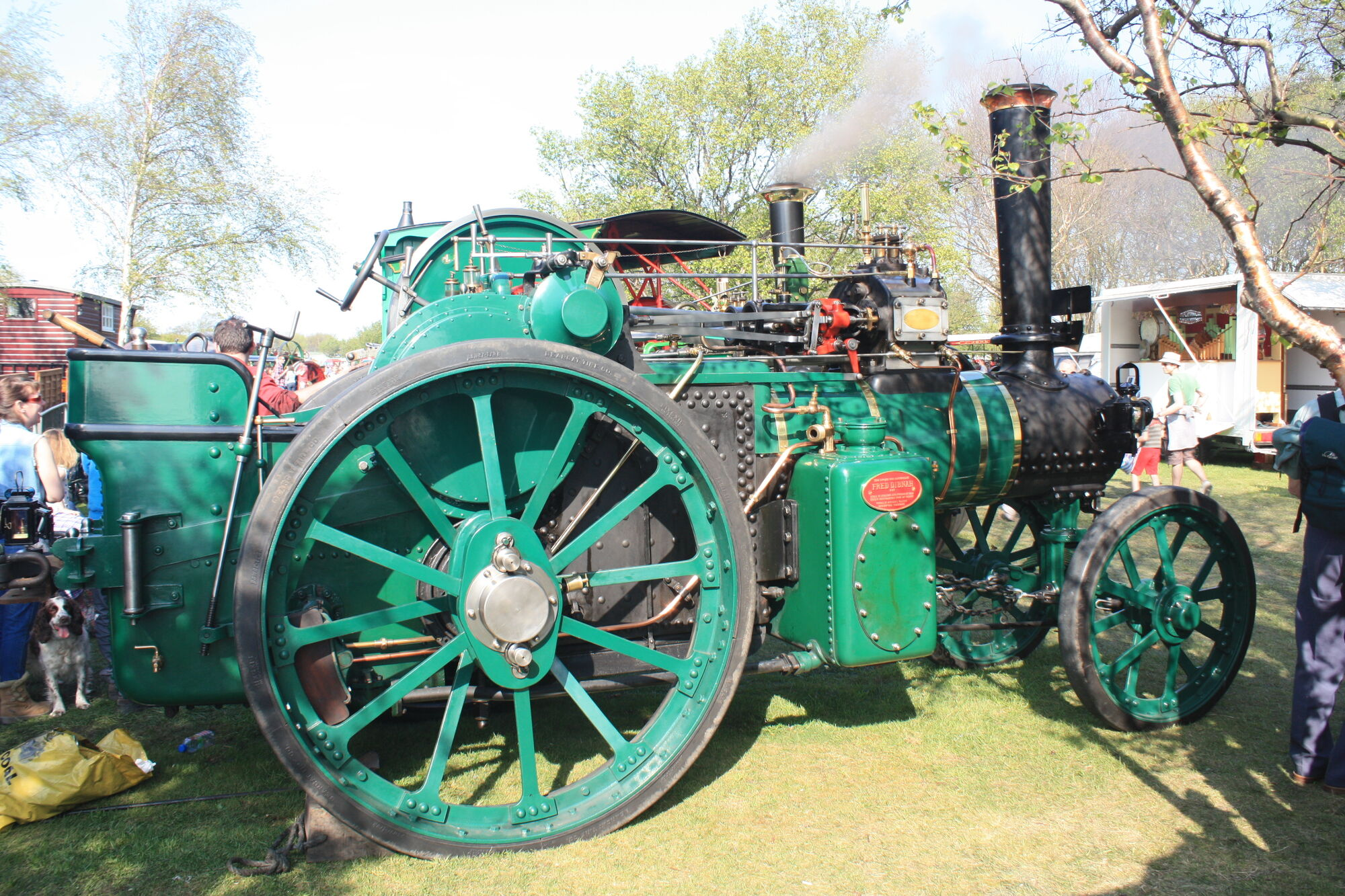 Aveling porter no 7838 tractor construction plant wiki fandom powered by wikia - Porter international wiki ...