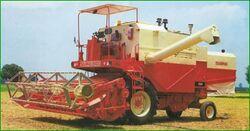 Swaraj 8100 combine-2003