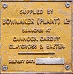 Bowmaker plant - dealer plate - IMG 8861-crop