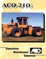 ACO 210 4WD brochure