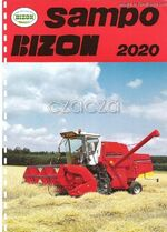 Bizon Sampo 2020 combine brochure - 1992