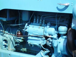 Injector pump by Sims on a Fordson