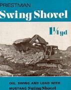 Priestman Mustang Swingshovel