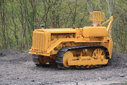 Cat D4 with winch at Neath 2012 - IMG 7940