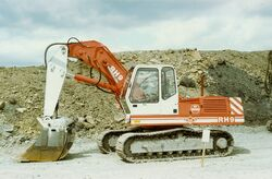 O and K RH 9 Face shovel SCAN0105