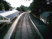 Stanhope Station Railway Lines