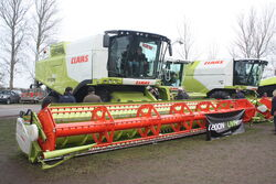 Claas Lexion 750 at LAMMA 11 - IMG 6055