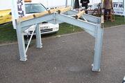 Portal frame building 'sample' at LAMMA 12 - IMG 3507