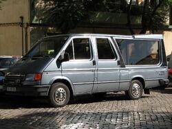 Ford Transit van hearse