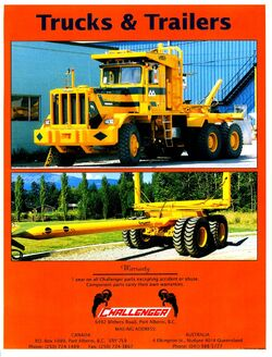 Challenger truck