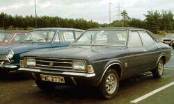 Ford Cortina III 2000E in England 1973