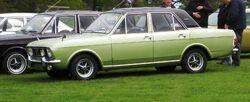 Ford Cortina 1600E 1599cc Oct 1970