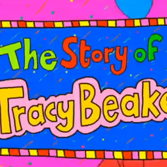 One of the title sequences for The Story of Tracy Beaker.