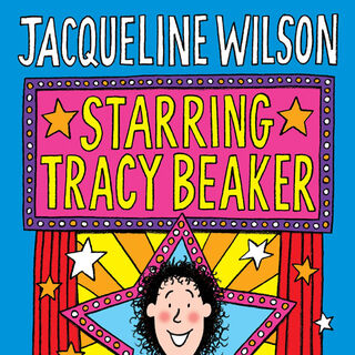 The first cover of Starring Tracy Beaker (1991)