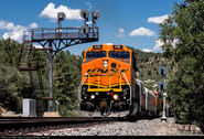 BNSF 616 Test Train