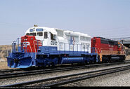 SP 7374 and 7342 SD40R units