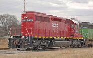 Ex HLCX NS SD40-2